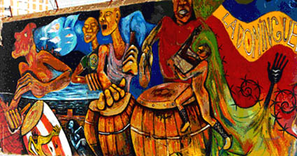 Paintings of Candombe